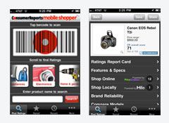 Consumer Reports Shopping App