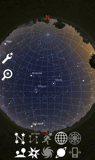 Stellarium Mobile Sky Map App for Android