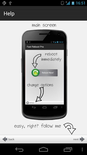 Fast Reboot Pro App for Android