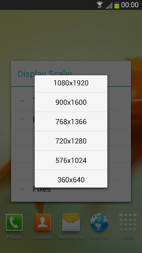 Resolution Changer App for Android