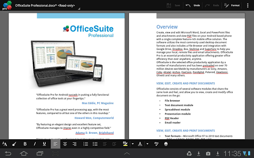 Office Suite Pro 7 App for Android