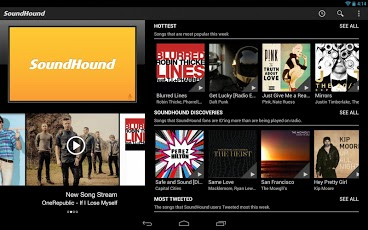 Soundhound App for Android