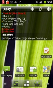 Pure Calendar Widget App for Android
