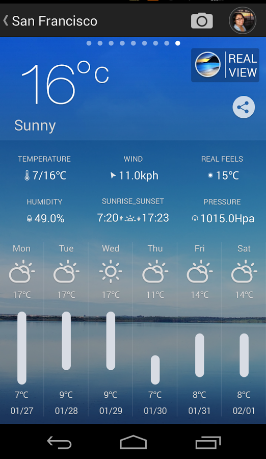 MoWeather App for Android
