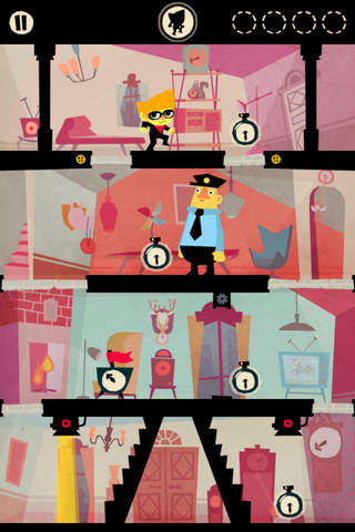 Beat Sneak Bandit iPhone Game App