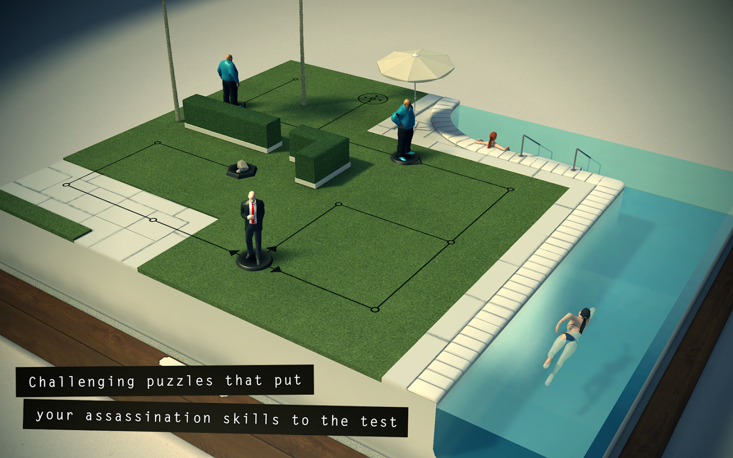 Hitman Go Game App for Android