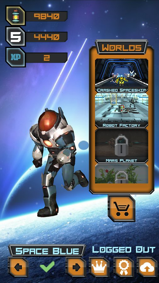 Space Rush Android Game App