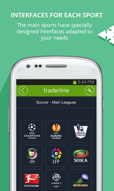 Traderline Betfair Android App