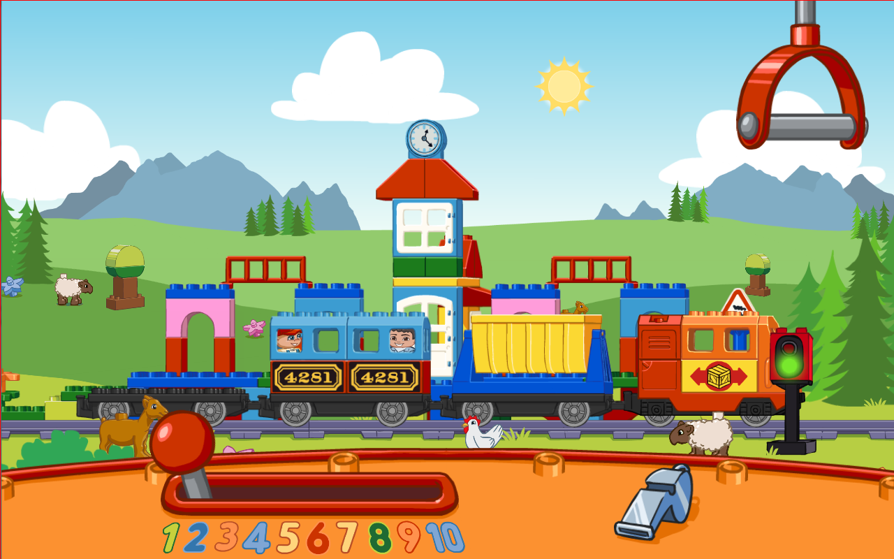 LEGO Duplo Train Android Game App