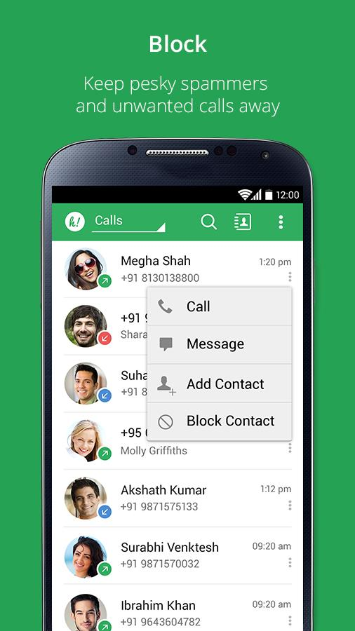 Holaa! Caller ID & Call Block Android App Review