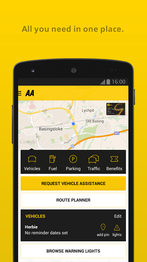 The AA Android App for Review