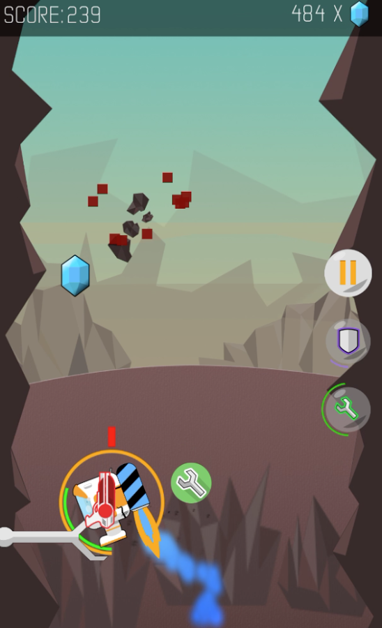 Canyons of Mars Android Game App Review