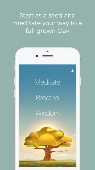 Oak Meditation Breathing iPhone App