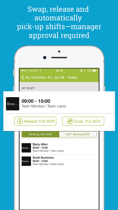 HotSchedules iPhone App Review