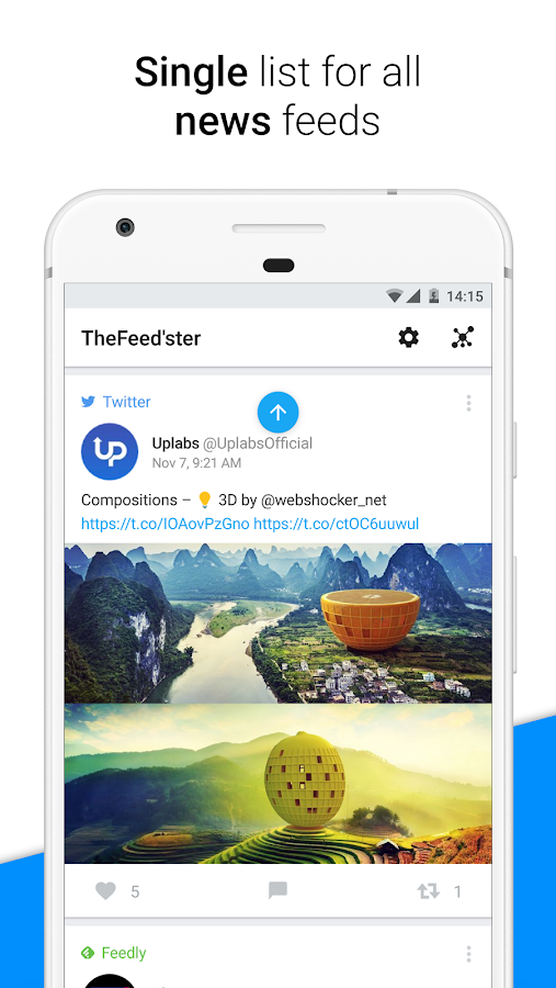 Feedster Feed Organizer Android App Review
