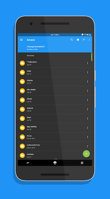 Amaze File Manager Android App Review