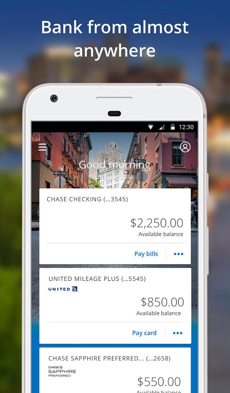 Chase Mobile Android App Review