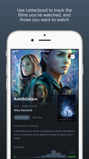 Letterboxd iPhone App Review
