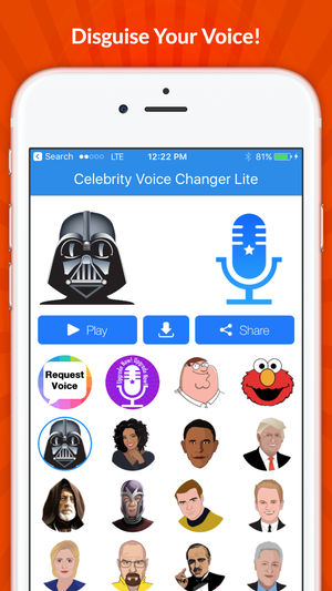 Celebrity Voice Changer iPhone App Review