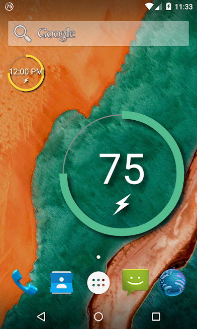 Battery Widget Reborn Android App Review