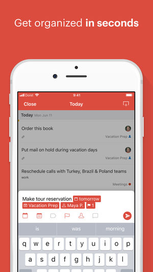 Todoist iPhone App