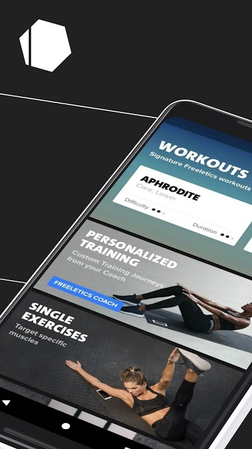 Freeletics Workout & Fitness Body Weight Android App helps you improve your body health without you hitting the gym.